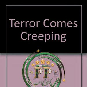 Terrors Comes Creeping by Carter Brown,Peter 1