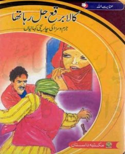 Kala Burqa Jal Raha Tha Novel By Inayatullah 1