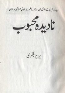 Nadeeda Mehboob Novel By Pervez Bilgrami 1