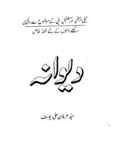 Deewana Novel By Syed Irfan Ali Yousaf 1