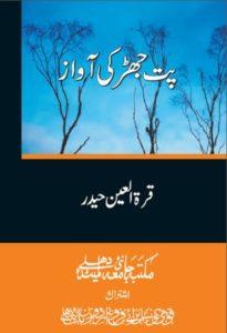 Patjhar Ki Awaz By Quratulain Haider 1