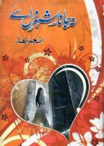 Na Jana Shehar e Dil Se Novel By Anjum Ansar 1