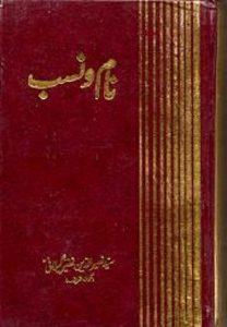 Naam O Nasab By Peer Naseer Ud Din Naseer 1