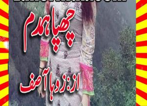 Chupa Humdum Urdu Novel By Zoha Asif 1