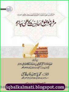 Murawwaja Mauzoo Ahadith ka Ilmi Jaiza by By Yaseen Qasmi 1