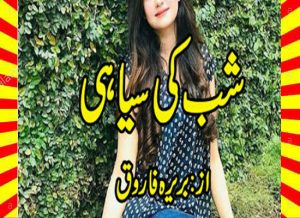 Shab Ki Siyahi Novel Free Download By Bareerah Farooq 1