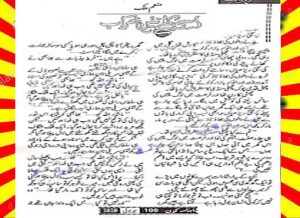 Assi Kally Kharab Nahin Urdu Novel By Munam Malik 1