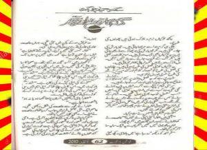 Gandam Ka Khosha Aur Pathar Urdu Novel By Sadia Hameed Chaudhary 1
