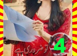 Tu Zaroori Hai Urdu Novel By DQ Episode 4 1